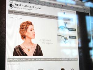 Silver Amulet Website