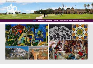 Arts Society de la Frontera website