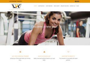 LVK Personal Training website